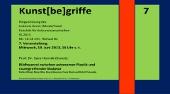 Sara Hornäk - Ästhetische Konstellationen in Kunst, Musik, Textil – Vortrag